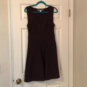 Fabulous DVF purple sleeveless dress size 10